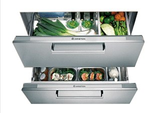 Refrigerateur a tiroir sous plan
