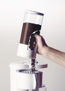 boite à café avec distributeur